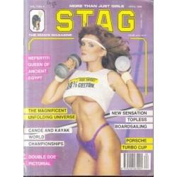 Stag - The Man's Magazine April 1988 (Vol. 07 No. 4)