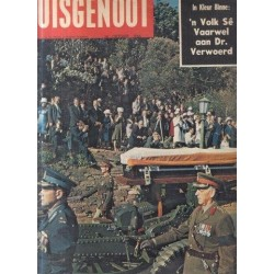 Huisgenoot 14 Oktober 1966 - 'n Volk se Vaarwel aan Dr. Verwoerd