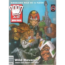 2000AD featuring Judge Dredd Prog 806 - 24 Oct 92