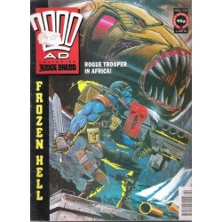 2000AD featuring Judge Dredd Prog 733 - 1 Jun 91