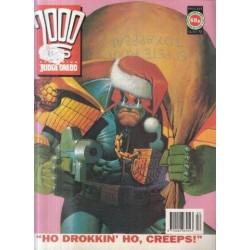 2000AD featuring Judge Dredd Prog 815 - 26 Dec 92