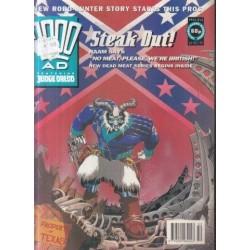 2000AD featuring Judge Dredd Prog 813 - 12 Dec 92