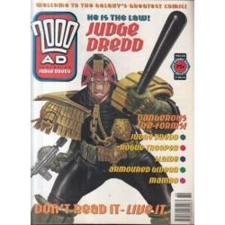 2000AD featuring Judge Dredd Prog 889 - 27 May 94