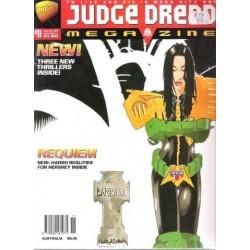 Judge Dredd Megazine No. 11 Dec 08 1995