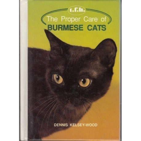 The Proper Care of Burmese Cats