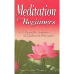 Meditation For Beginners: Techniques For Awareness, Mindfullness & Relaxation