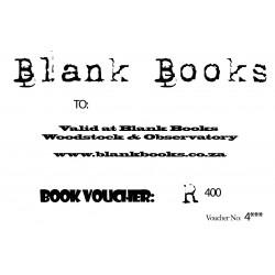 Blank Books/Africana Books/Obz Books R400 Book Voucher