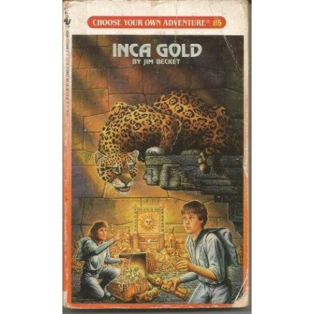 Choose Your Own Adventure 85 - Inca Gold