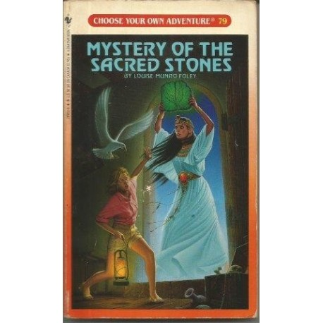 Choose Your Own Adventure 79 - Mystery of the Sacred Stones