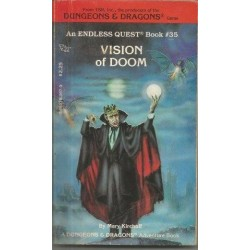 Endless Quest 35 - Vision of Doom (Choose Your Own Adventure D&D)