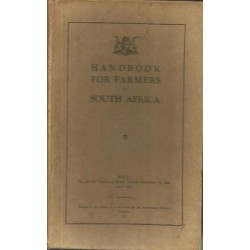 Handbook for Farmers in South Africa (Third and Enlarged Edition)