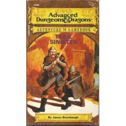Advanced Duneons & Dragons Adventure Gamebook 14 - Trail Sinister