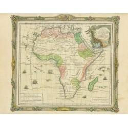 Map of L'Afrique