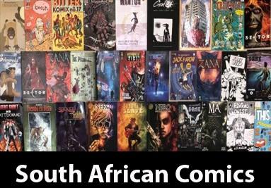 South African Comics
